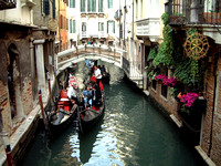 Back Canals in Venice