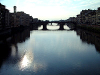 Beautiful Florence and the Arno River