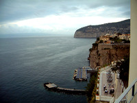 Cliffs of Sorrento Overlooking the Bay of Naples